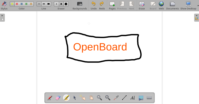 OpenBoard interface