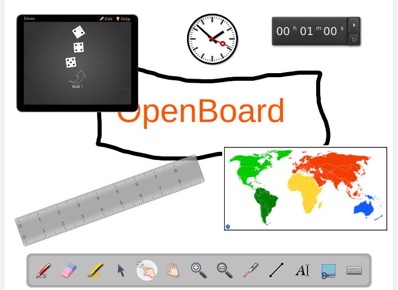 OpenBoard Widgets